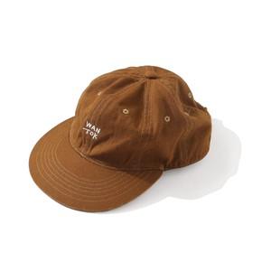 EVCON×IFNi EYE MASK 6 PANEL CAP [MOCHA]