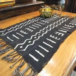 アフリカ泥染布(黒)