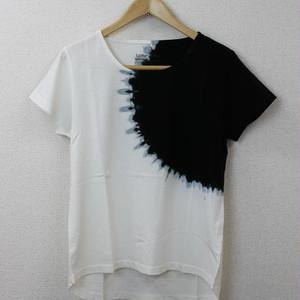 逆さ絞り段染(ブラック) [20L-A01]/レディース