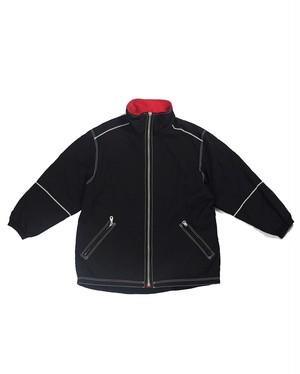 design hi-neck nylon jacket