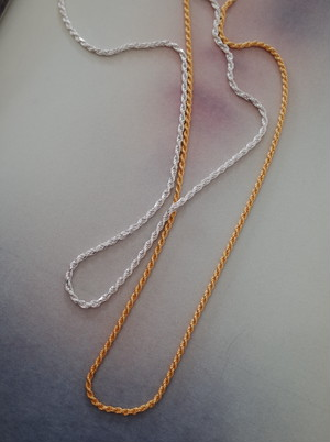 【 HERMINA ATHENS 】THICK CORD CHAIN