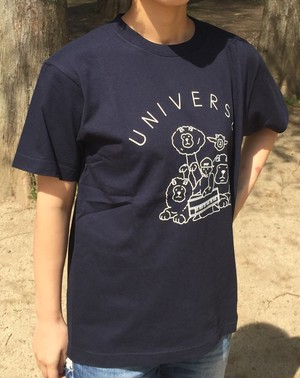 UNIVERSE Tシャツ ネイビー