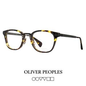 日本製 オリバーピープルズ OLIVER PEOPLES メガネ chessman-dtbk CHESSMAN チェスマン コンビネーション ウェリントン 眼鏡
