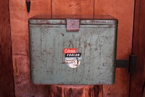USED 40s-50s Coleman Cooler G0521