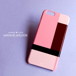モンドリアンな柄が上品なiphone/androidハードケース New❤iPhone8/iPhoneX