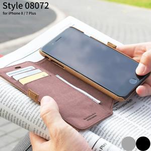 iPhone 8 Plus ケース 手帳型 おしゃれ iPhone 7 Plus 本革 フリップケース アイフォーン STORY LEATHER ストーリーレザー Style08072 国内正規品