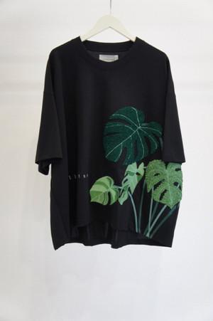 ルーズTシャツ -BLACK- / Licht Bestreben