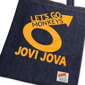 JOVIJOVA LIVE『LET'S GO SIX MONKEYS』デニムトート