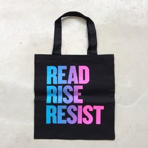 READ RISE RESIST Tote