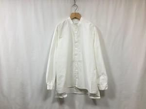 "AUGUSTE-PRESENTATION Pajama Look ダンガリースタンドカラーシャツWHITE"""