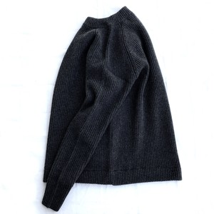 Cashmere Low Knit/CHARCOAL