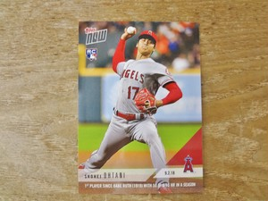 大谷翔平 RC 2018 TOPPS NOW 09.02.18 ( 英語版 )
