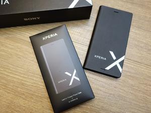 残りわずか≪非売品アクセサリー≫Xperia XZ用 Style Cover Stand(SCSF10)レザー仕様