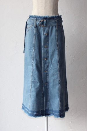【SAYAKADAVIS×SERGE de bleu】Denim Button Skirt-used