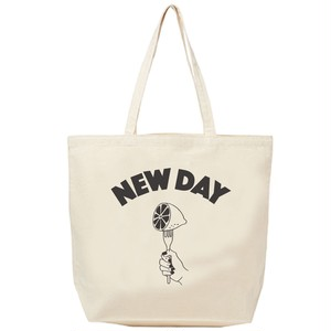 ✳️再入荷【NEW DAY】Tote-Bag (Natural × SUMI)