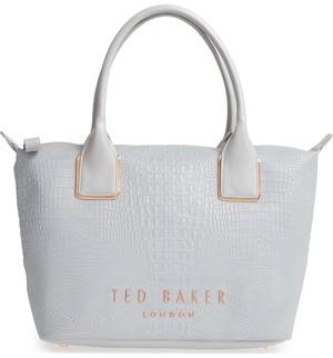 TED BAKER(テッドベーカー) クロコ レザー トートバッグ