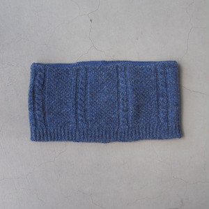 Nine Tailor Amp neckwarmer Blue