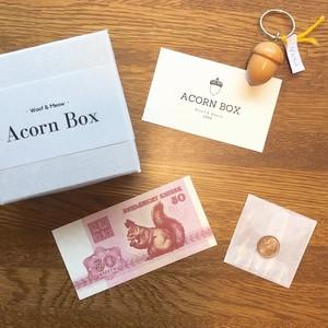どんぐりBOX(キーホルダー) by Cole Woodturners