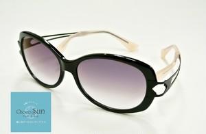 Choco Sun ちょこサン 鼻に跡がつかないサングラス  FG24501 BK2