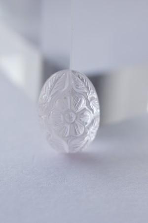 Carving Rose quartz - 001