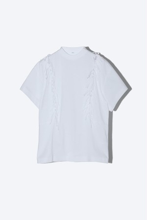 【TOGA PULLA】フリンジジャージーTシャツ TP11-JK277