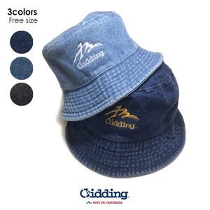 【★】Gidding13™ : MT-Gidding Denim HAT / ハット