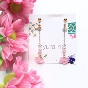 *yura-ri* ピアス/イヤリング