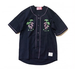EFFECTEN(エフェクテン) BASEBALL SHIRTS 'Flamingo'