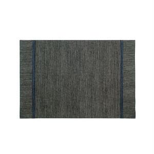 ランチョンマット 筋小紋 黒 [007-00198-002]