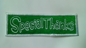 SpecialThanksワッペン