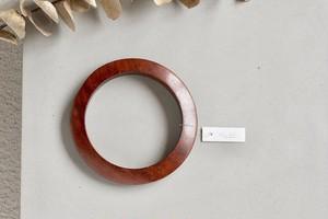 vintage wood slim bangle