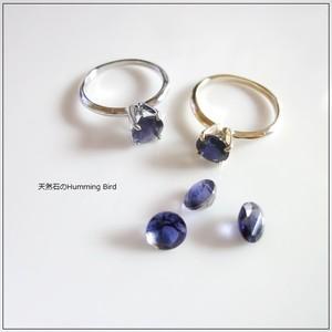 【受注生産】Enochシリーズ■アイオライトの指輪