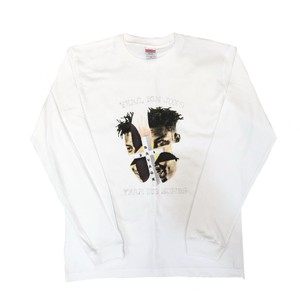 【o.z.y.k.i.x】21savage Long Sleeve Tee/WHITE