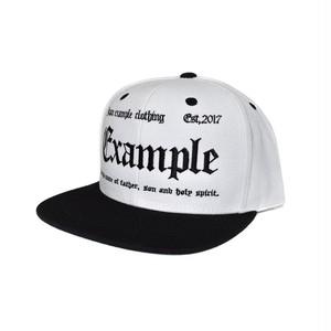 EXAMPLE OE LOGO SNAP / WHITExBLACK