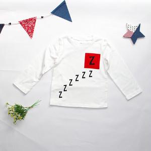 ブタさんzzz長袖Tシャツ