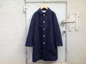 "LIVING CONCEPT "" SOUTIEN COLLAR COAT  NAVY """