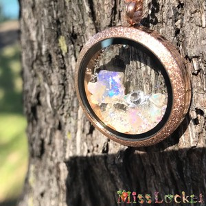オパール原石ネックレスC(1点物)珍しい豪州産プレシャスオパール