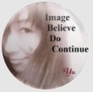 Yuko Kawahara 缶バッチ Image Believe Do Continue