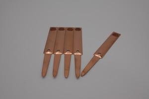 鶴仙園ロゴ入り銅製プランツタグ 5枚入り