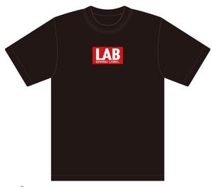 LAB BOXロゴTシャツ ブラック XL