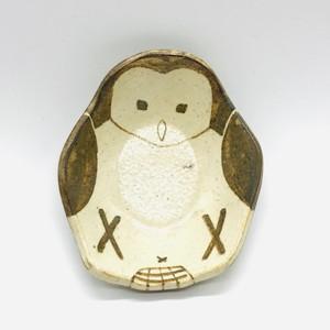 【つぐみ製陶所】鳥豆皿 ⑧