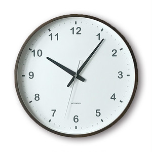 KATOMOKU plywood wall clock km-35L