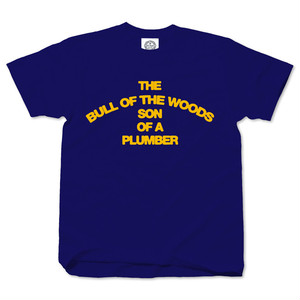THE BULL OF THE WOODS cobalt blue