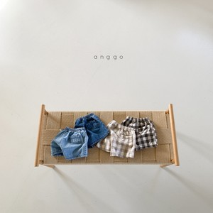 【2021SS予約】【anggo】Twin Pants