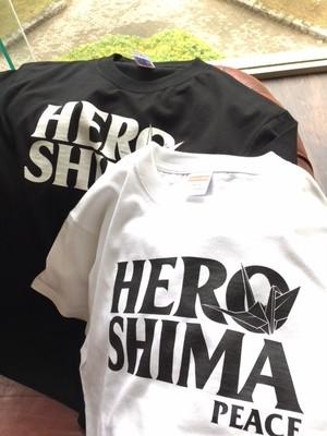 平成30年7月豪雨 災害チャリティ HEROSHIMA peace Tシャツ heroshimat
