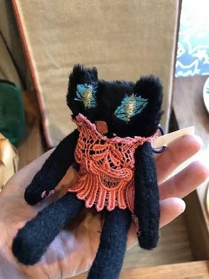 kyoron チビ黒ネコ お人形