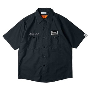 "ANRIVALED by UNRIVALED ""No.13 S/S SHIRT"" BLACK"