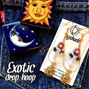 【No.1184】Exotic✴︎drop hoop