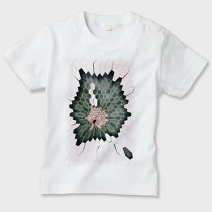 キッズTシャツ Hex1  白