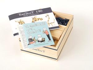 「TomTect 190」木のブロック「KAPLAカプラ」の開発者トム・ブリューゲン待望の新商品!